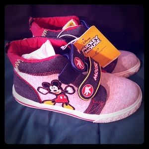 NWT Toddler Mickey Mouse Sneakers